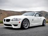 Photos of EAS BMW Z4 M Coupe (E85) 2012