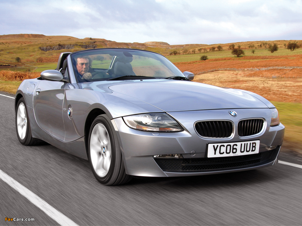 Pictures Of Bmw Z4 2 5i Roadster Uk Spec E85 2005 09 1024x768
