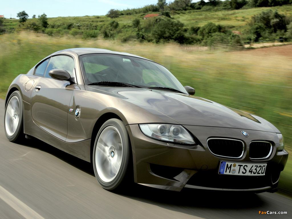 Pictures Of Bmw Z4 M Coupe E85 2006 08 1024x768