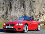 Pictures of BMW Z4 M Roadster UK-spec (E85) 2006–08