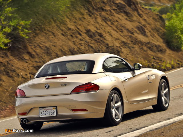 Pictures Of Bmw Z4 Sdrive30i Roadster Us Spec E89 2009