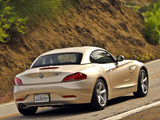 Pictures of BMW Z4 sDrive30i Roadster US-spec (E89) 2009