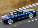 Pictures of BMW Z4 sDrive35i Roadster UK-spec (E89) 2009–12