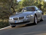 BMW Z4 Coupe (E85) 2006–09 wallpapers