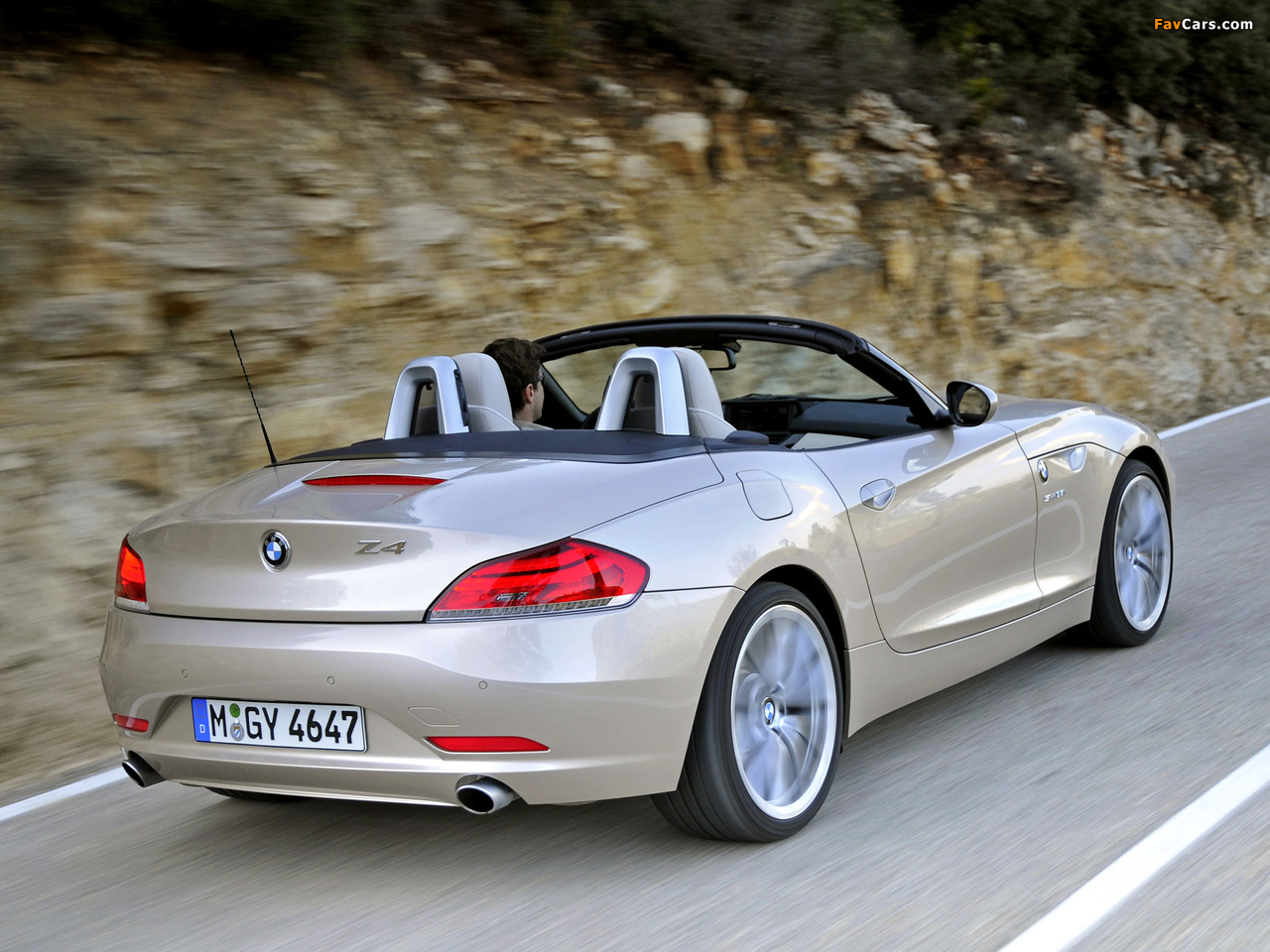 BMW Z4 sDrive35i Roadster (E89) 2009 wallpapers (1280 x 960)