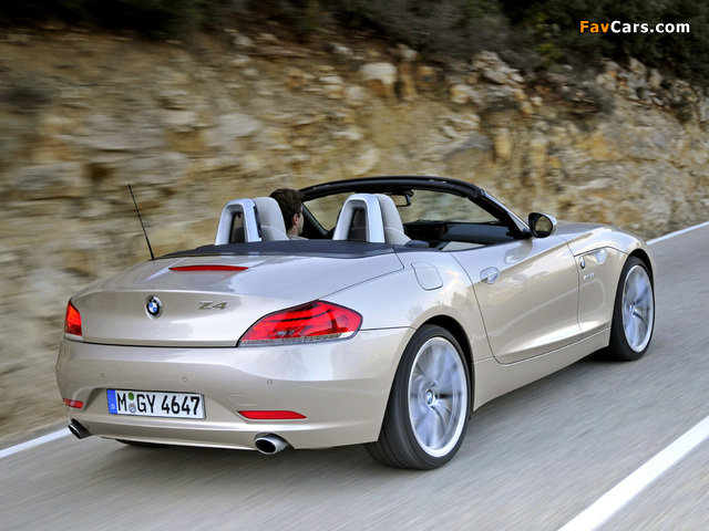 BMW Z4 sDrive35i Roadster (E89) 2009 wallpapers (640 x 480)