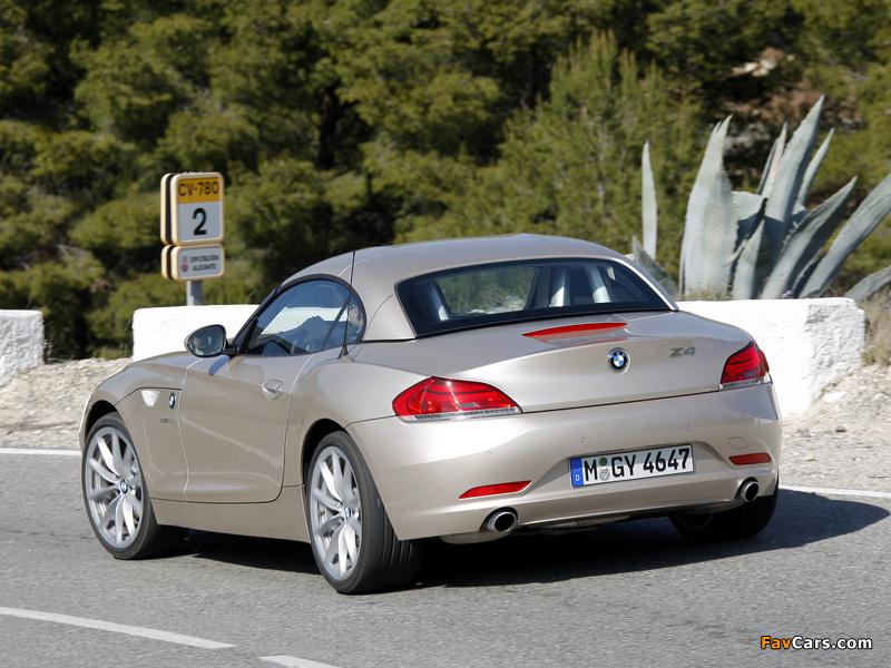 BMW Z4 sDrive35i Roadster (E89) 2009 wallpapers (800 x 600)