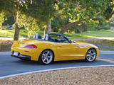 BMW Z4 sDrive28i Roadster US-spec (E89) 2011–12 wallpapers