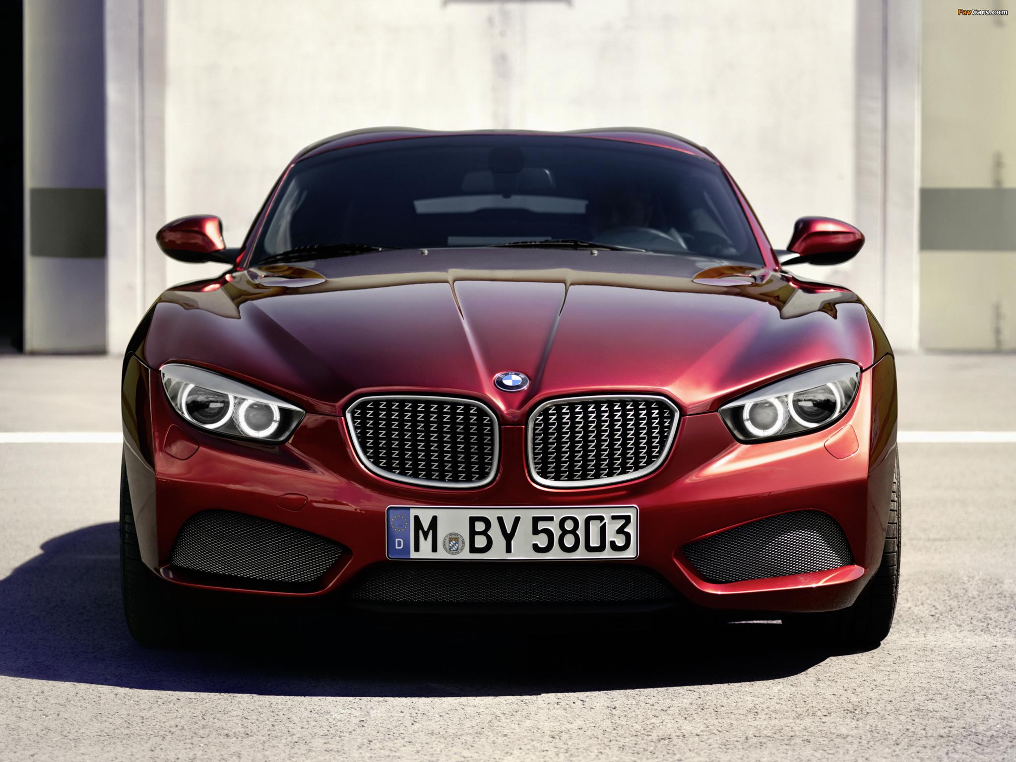 Images of BMW Zagato Coupé 2012 (2048 x 1536)