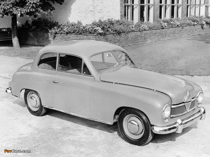 Borgward Hansa 1500 2-door 1949–54 pictures (800 x 600)