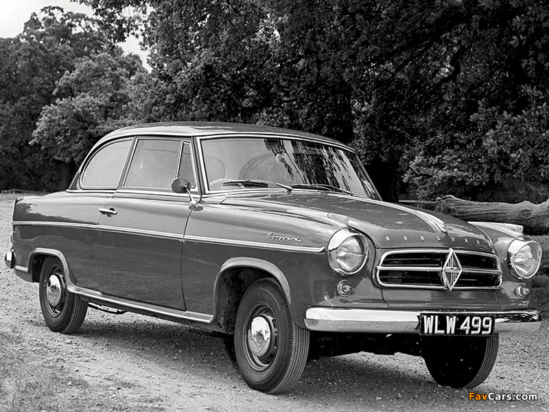 Borgward Isabella Sedan 1958–61 pictures (800 x 600)