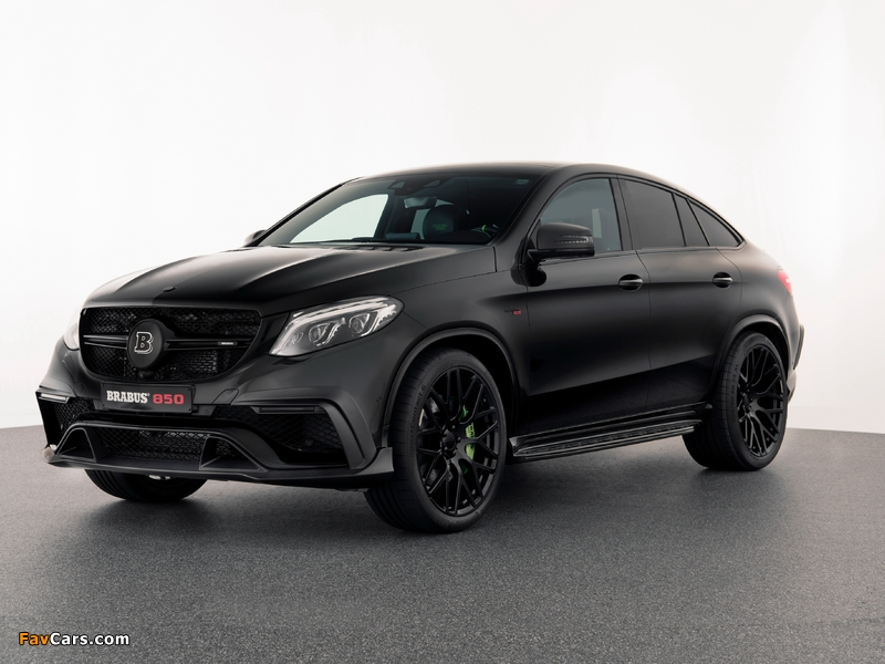 Pictures of Brabus 850 Coupé (C292) 2015 (800 x 600)