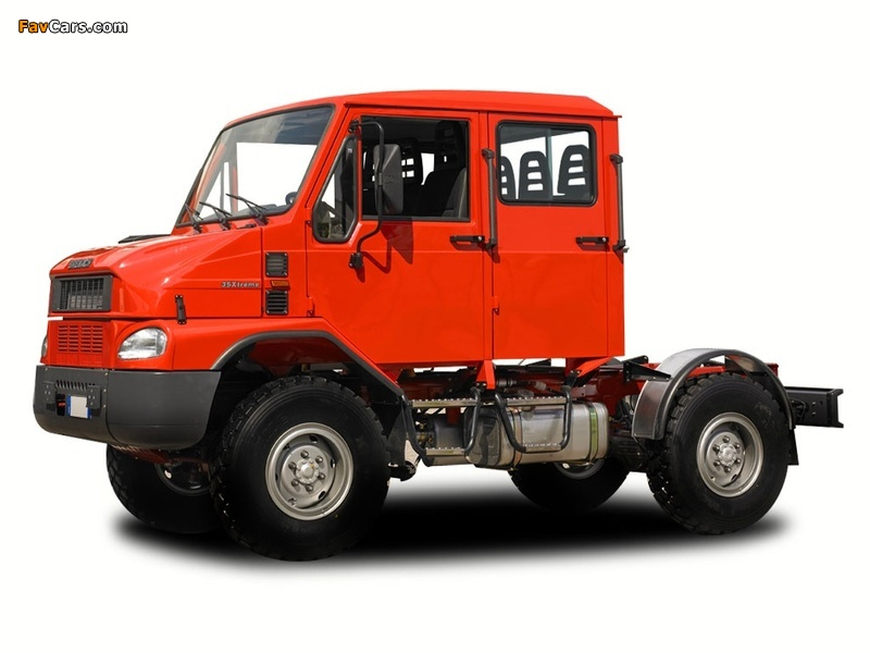 Images of Bremach Job Double Cab (800 x 600)