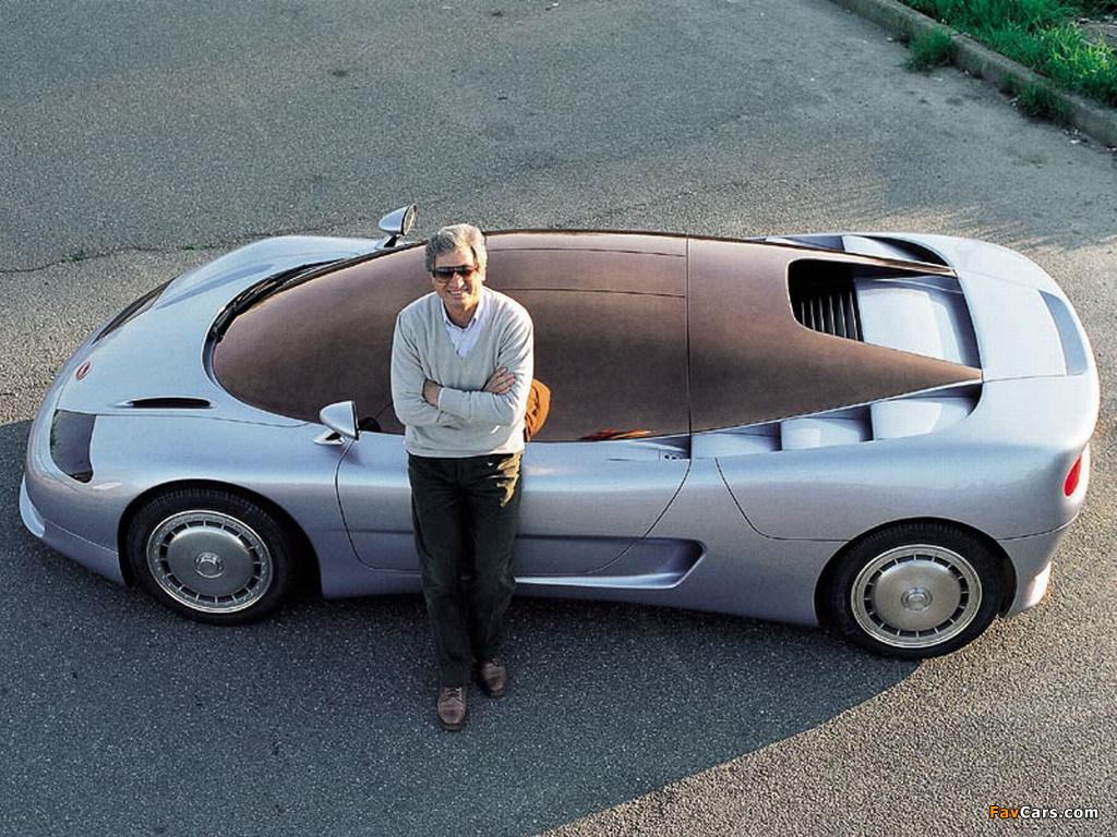 Bugatti ID 90 Concept 1990 images (1024 x 768)