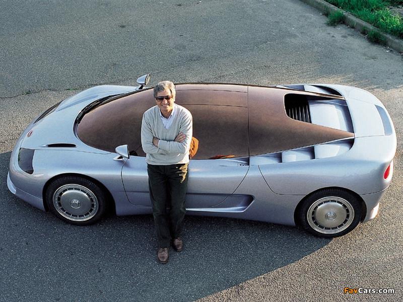 Bugatti ID 90 Concept 1990 images (800 x 600)