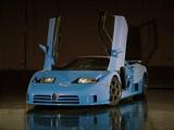 Bugatti EB110 SS US-spec Prototype 1994 pictures