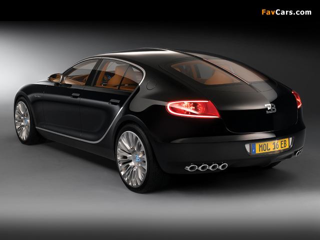 Bugatti 16C Galibier Concept 2009 pictures (640 x 480)