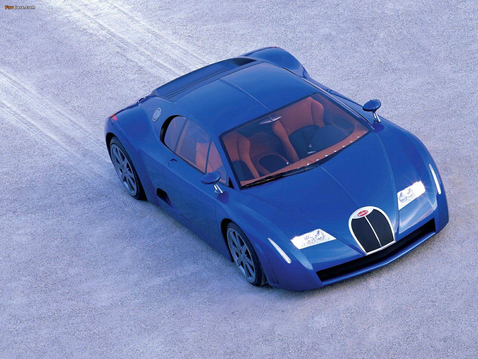 Photos of Bugatti EB18/3 Chiron Concept 1999 (1600 x 1200)
