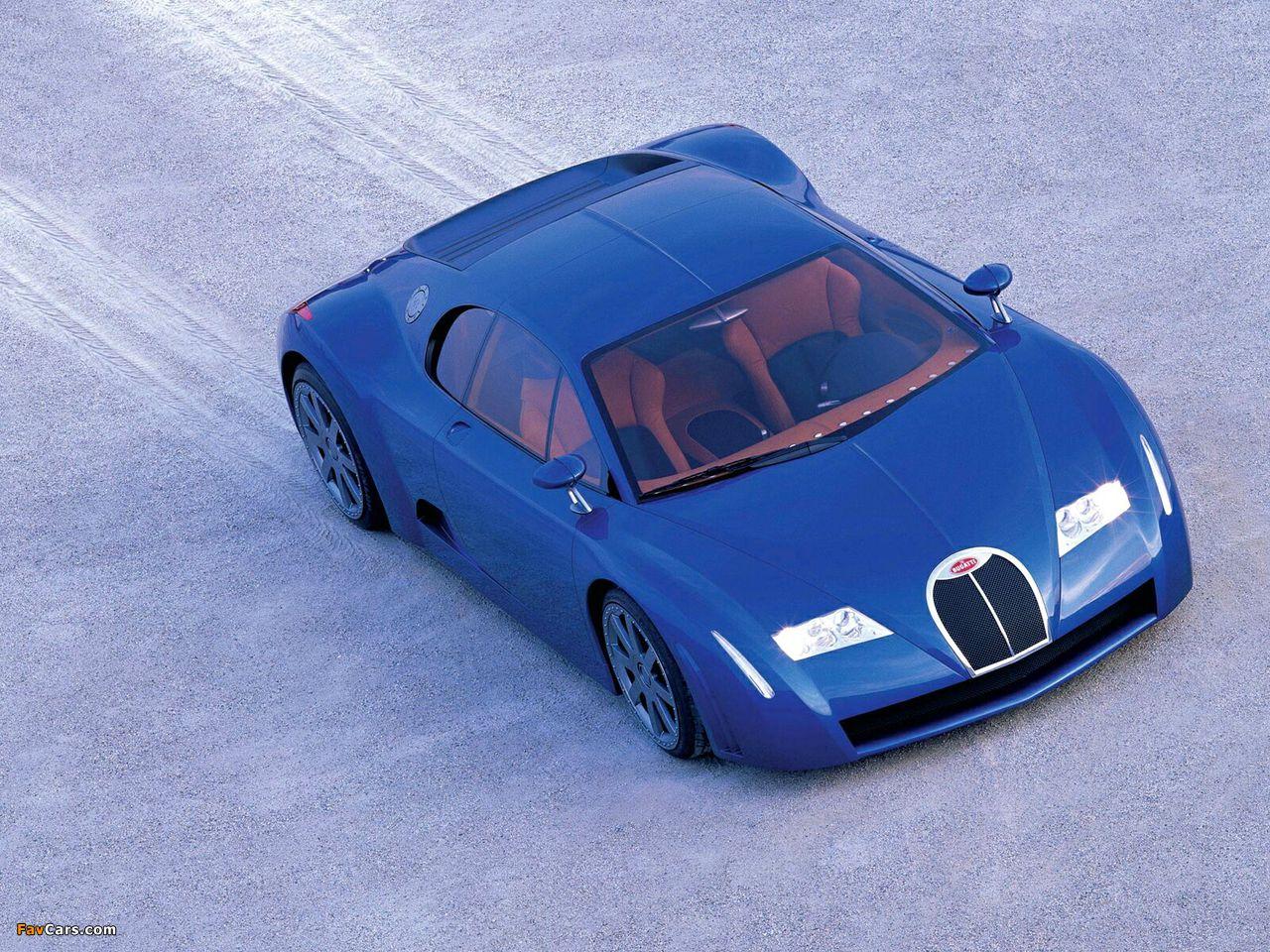 Photos of Bugatti EB18/3 Chiron Concept 1999 (1280 x 960)