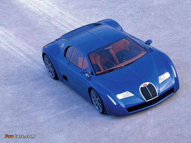 Photos of Bugatti EB18/3 Chiron Concept 1999 (640 x 480)