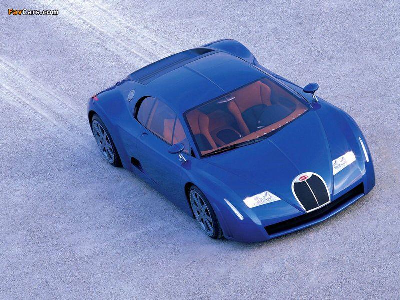Photos of Bugatti EB18/3 Chiron Concept 1999 (800 x 600)