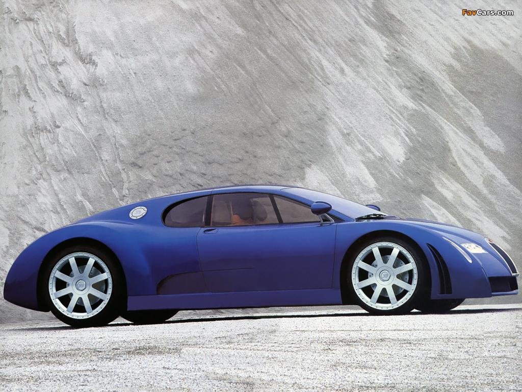 Pictures of Bugatti EB18/3 Chiron Concept 1999 (1024 x 768)