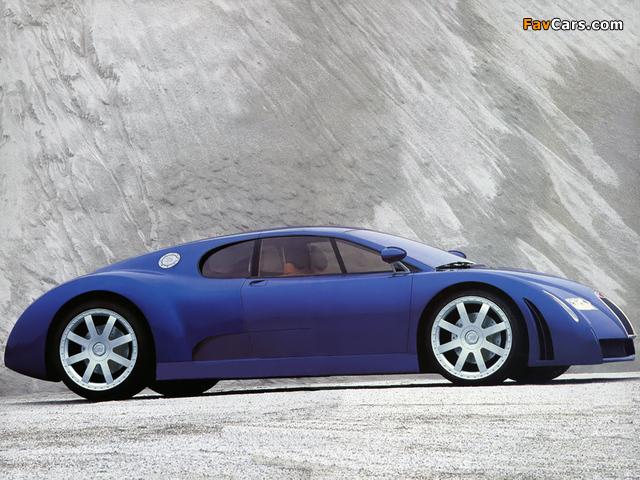 Pictures of Bugatti EB18/3 Chiron Concept 1999 (640 x 480)