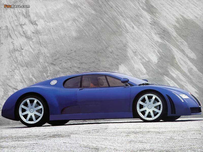 Pictures of Bugatti EB18/3 Chiron Concept 1999 (800 x 600)