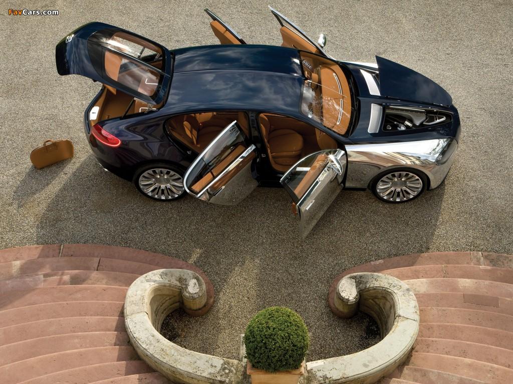 Pictures of Bugatti 16C Galibier Concept 2009 (1024 x 768)