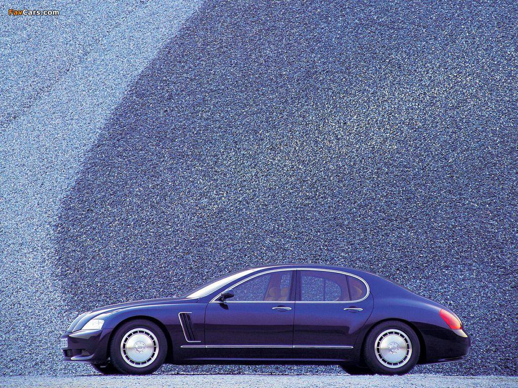 Bugatti EB218 Concept 1999 wallpapers (1024 x 768)