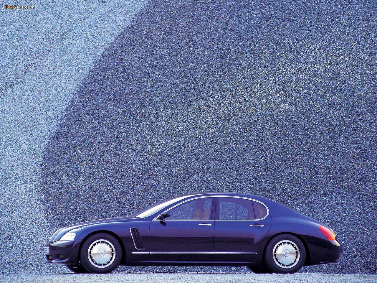 Bugatti EB218 Concept 1999 wallpapers (1280 x 960)