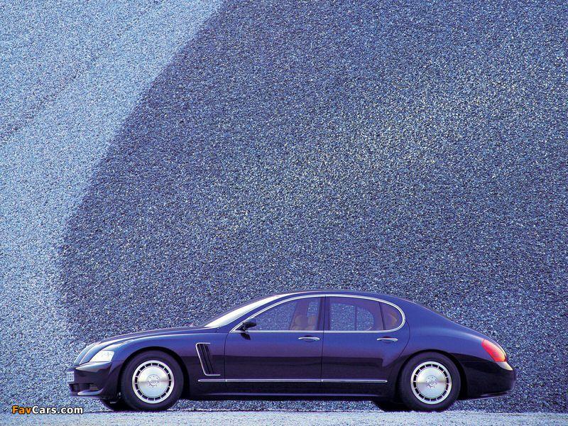 Bugatti EB218 Concept 1999 wallpapers (800 x 600)