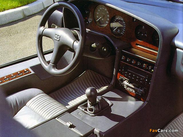 Bugatti EB110 GT Prototype 1991 images (640 x 480)