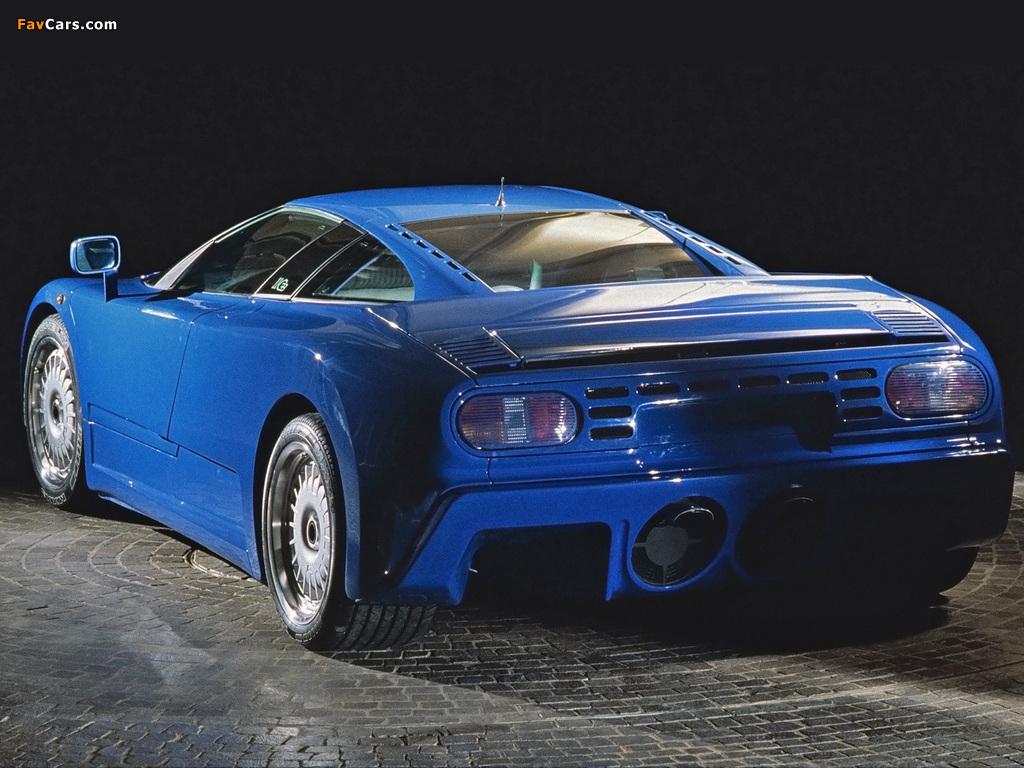 Bugatti EB110 GT Prototype 1991 photos (1024 x 768)