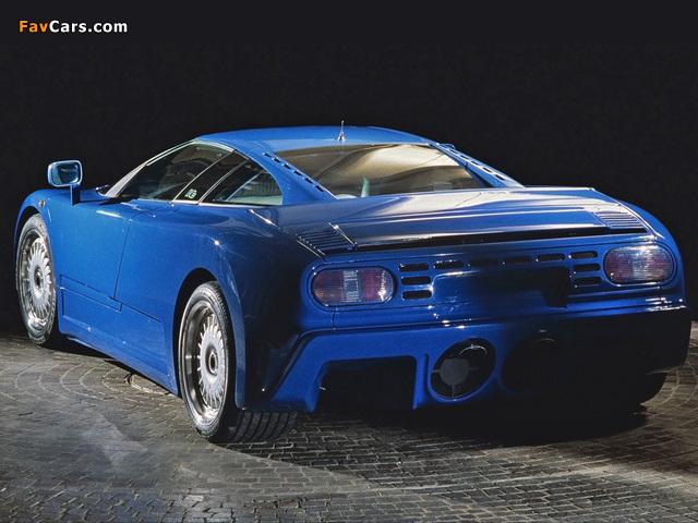 Bugatti EB110 GT Prototype 1991 photos (640 x 480)