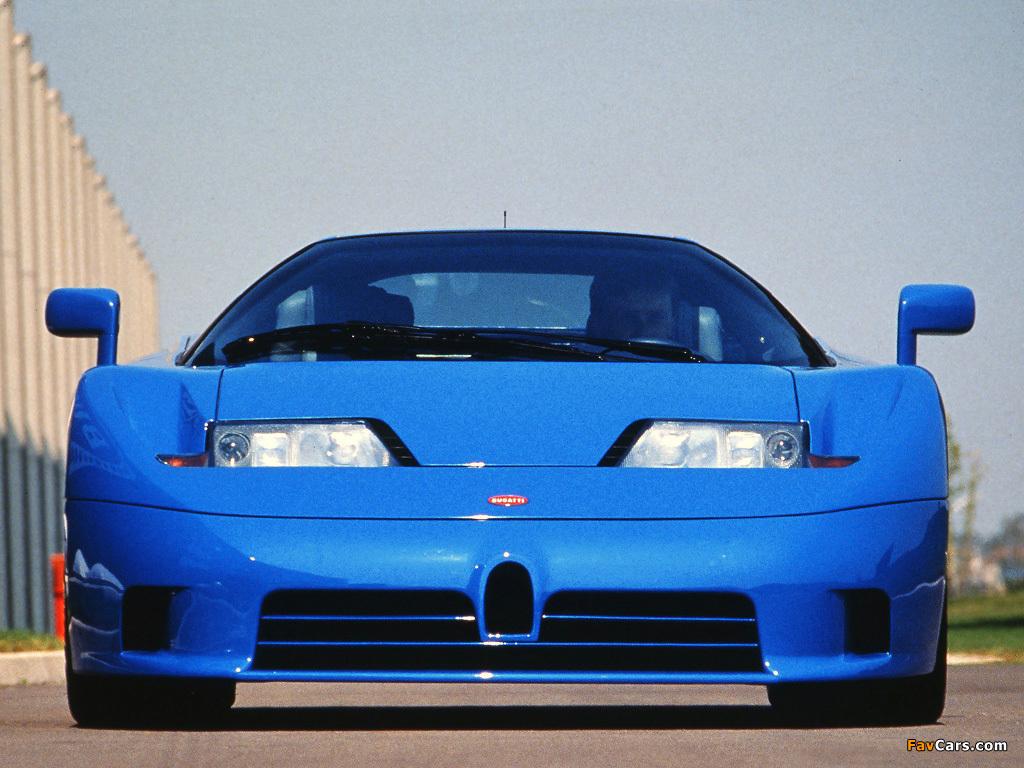 Bugatti EB110 GT Prototype 1991 wallpapers (1024 x 768)
