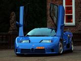 Bugatti EB110 GT 1992–95 pictures