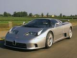 Bugatti EB110 SS Prototype 1992 pictures