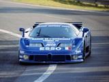 Bugatti EB110 SS LM 1994 photos