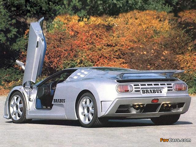 Brabus Bugatti EB110 SS 1994 pictures (640 x 480)