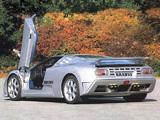Brabus Bugatti EB110 SS 1994 pictures