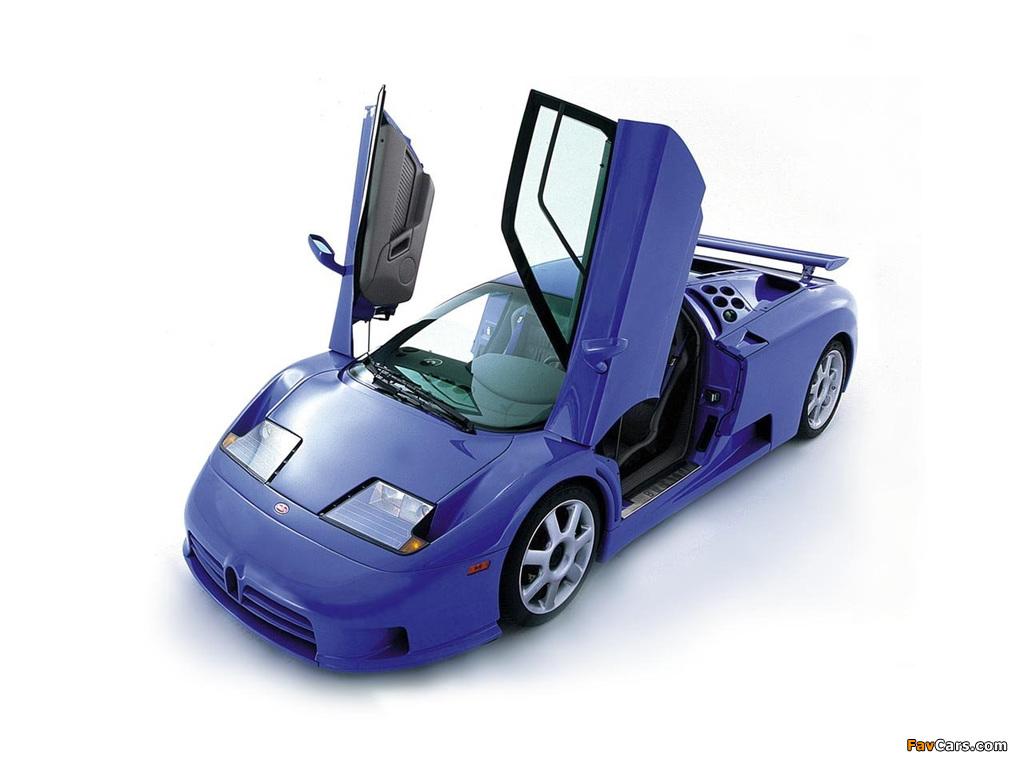 Bugatti EB110 SS by Dauer 1998–99 photos (1024 x 768)