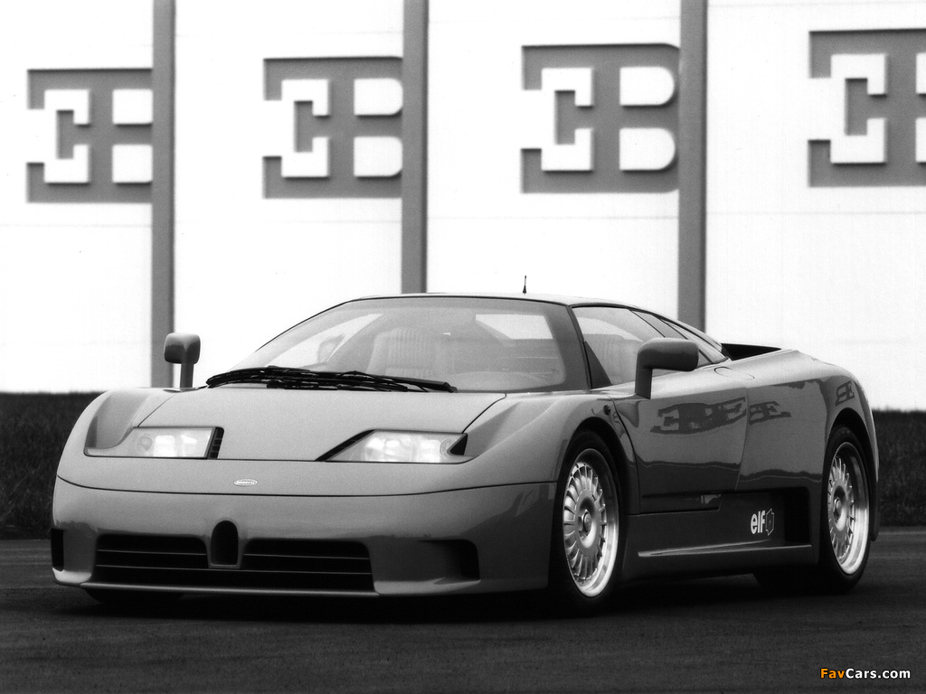 Images of Bugatti EB110 GT Prototype 1991 (1024 x 768)