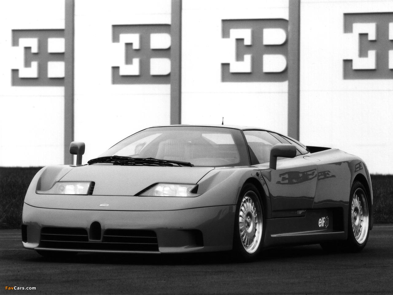Images of Bugatti EB110 GT Prototype 1991 (1280 x 960)