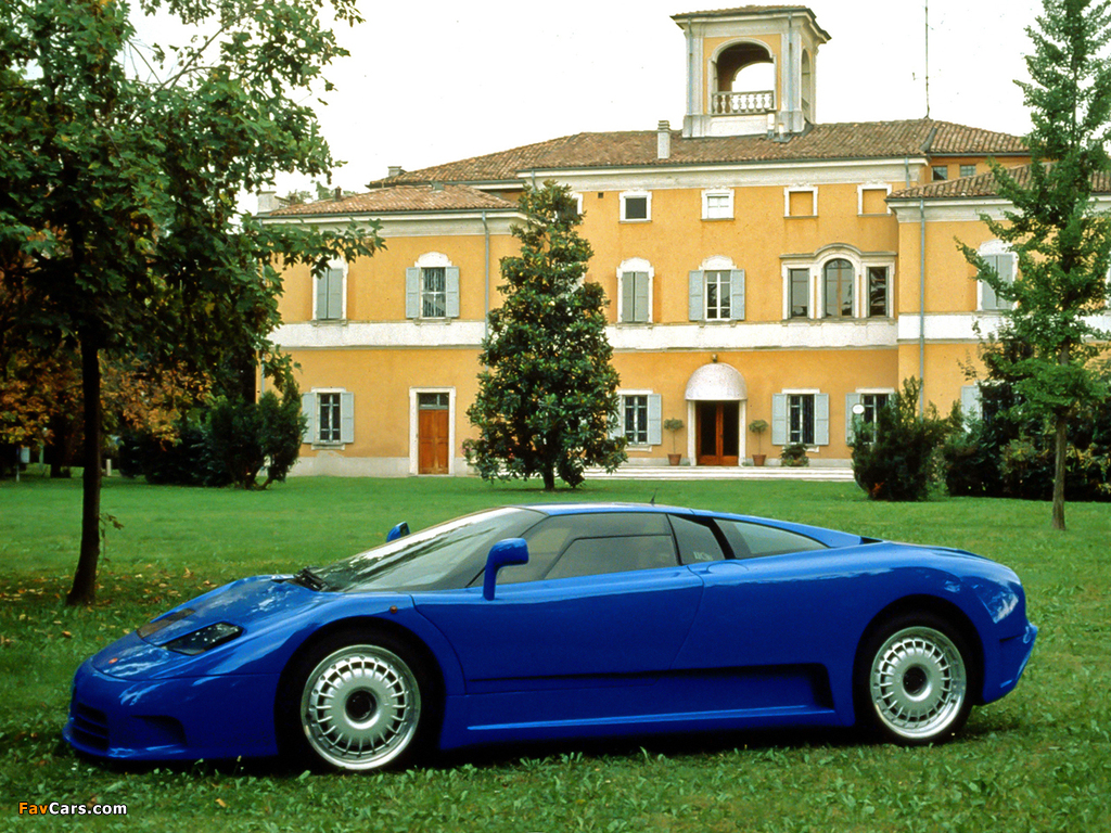Photos of Bugatti EB110 GT Prototype 1991 (1024 x 768)