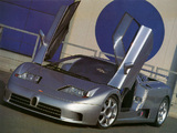 Photos of Bugatti EB110 SS Prototype 1992