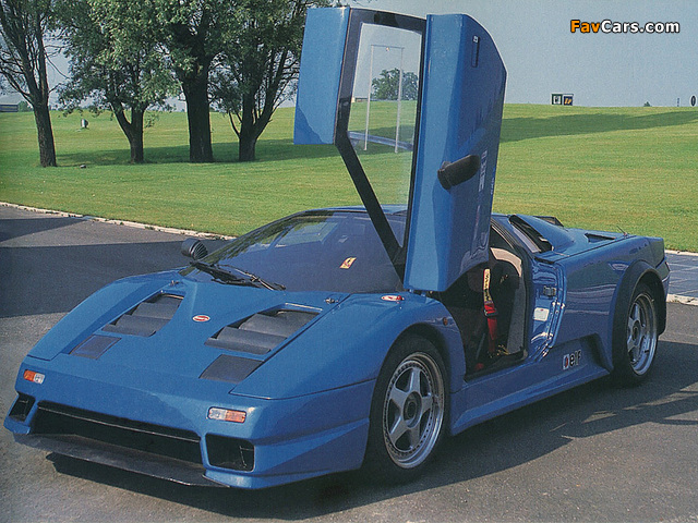 Pictures of Bugatti EB110 Prototype 1990 (640 x 480)