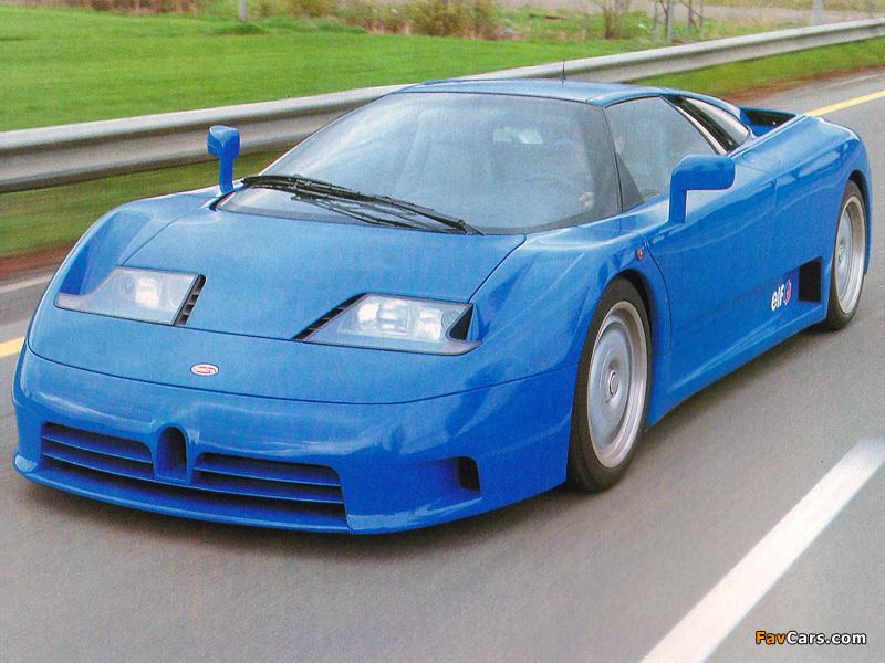 Pictures of Bugatti EB110 GT Prototype 1991 (800 x 600)