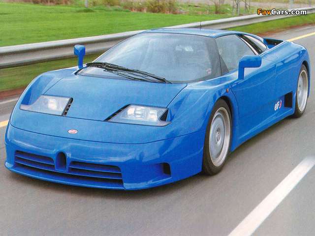 Pictures of Bugatti EB110 GT Prototype 1991 (640 x 480)