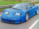 Pictures of Bugatti EB110 GT Prototype 1991